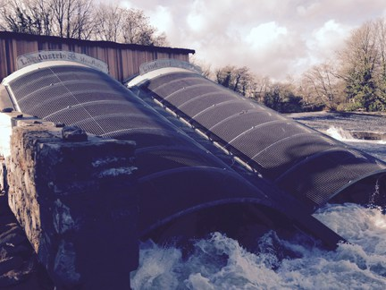 Totnes Hydro Weir delivers!