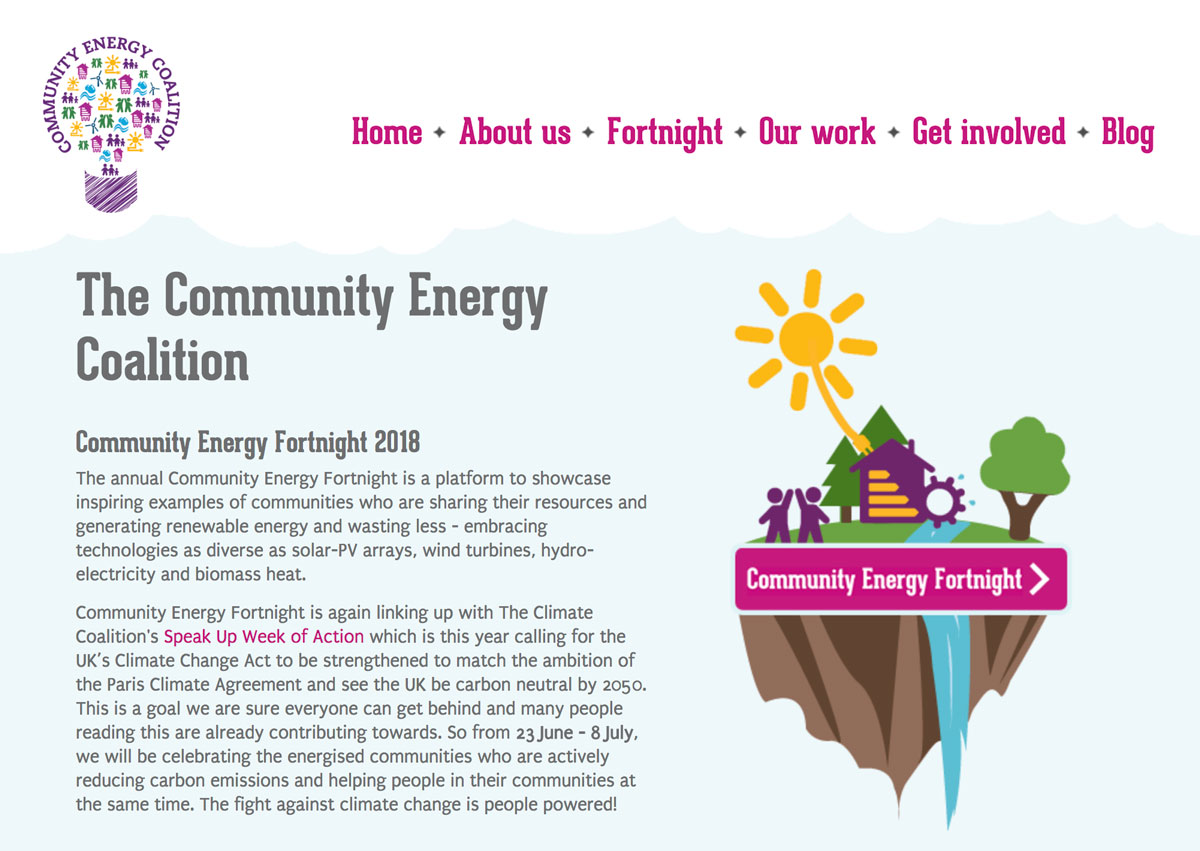 Community Energy Fortnight 2018