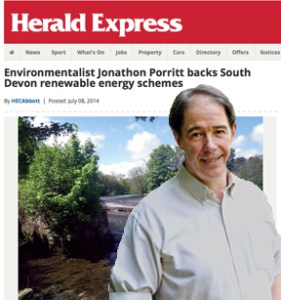 Join Jonathon Porritt and hundreds of people just like you…